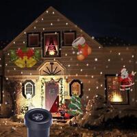 Waterproof moving Laser Projector LED Lights Outdoor Xmas Landscape Decor Lamp