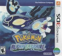 Pokemon Alpha Sapphire - Nintendo 3DS Brand New Factory Sealed