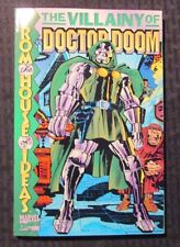 1999 THE VILLAINY OF DOCTOR DOOM Graphic Novel SC VF 8.0 Jack Kirby