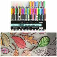 Highlighter Glitter Pen Pastels Metal Gel Pen Set for Painting Drawing