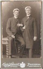 CDV photo Studentika Burschenschaft - Friedberg 1900er