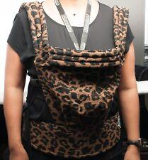 Artipoppe Zeitgeist Leopard Baby Carrier
