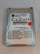 "Toshiba 60GB 4200RPM 2.5"" IDE ATA-100 Laptop Hard Drive MK6025GAS HDD"