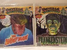 Universal Studios Monsters Iron On Transfer THE WOLFMAN & FRANKENSTEIN