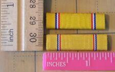 lot of 2 American Defense medal ribbon bars slide type