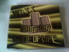 WINX - BRIGHTER SIDE OF LIFE - 4 TRACK DANCE CD SINGLE - JOSH WINK