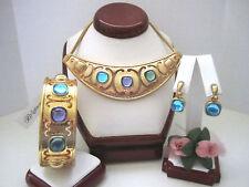 "Brighton ""VERSAILLES AMALIA"" Necklace-Earring-Bracelet Set (MSR$222) NWT/Pouch"