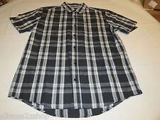 Men's Hurley shirt button up L surf skate NEW plaid MVS0002130 Metric Woven 06F