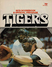 Detroit Tigers 1979 Score Book and Offical Program