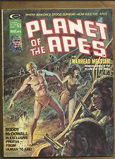 Planet of the Apes  #8 US Magazine mag vg+ 1975 scarce Marvel Comics US comics