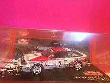 SUPERBE TOYOTA CELICA GT4 RALLY MONTECARLO 1991 NEUF SOUS BLISTER 1/43 D7