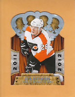 2011 12 CROWN ROYALE # 131 ERIK GUSTAFSSON PHILADELPHIA FLYERS ** FREE SHIPPING