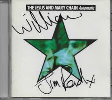 """THE JESUS AND MARY CHAIN """"Automatic"""" RARE CD - Hand signed by William & Jim Reid"""