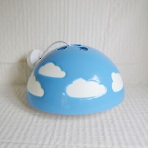 Vintage/Discontinued Ikea Skojig Blue Cloud Children's Light Shade, Ceiling Lamp