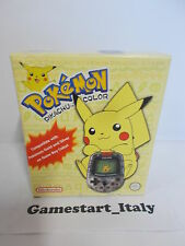 CONSOLE POKEMON PIKACHU COLOR - NINTENDO - NEW SEALED PAL VERSION VERY RARE
