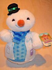 Disney Doc McStuffins Toy Hospital stuffed/ plush animals: Chilly snowman NEW