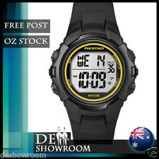 Timex Men's Marathon Resin Watch, Indiglo, Alarm T5K818  - Free Post in AU