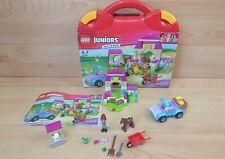 Lego Juniors 10746 Mia's Farm Suitcase Not complete