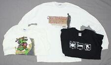 NEW Gildan Ultra Cotton Mens LOT OF 3 Skateboard Tee White and Black Large 02759