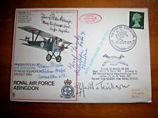 ROSSBACH - RAF SC5  MULTI SIGNED BY GERMAN LUFTWAFFE PILOTS COVER + PHOTOS