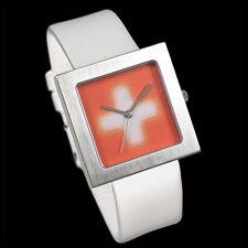"""Acme Studio """"Pixelated Cross"""" Watch in White by Karim Rashid - OOP - NIB"""