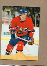 brian savage montreal canadians 1996/97 134 artists proof card pinnacle