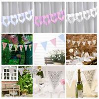 Wedding Bunting / Tissue Garland - 9 Vintage designs Wedding Party Celebration