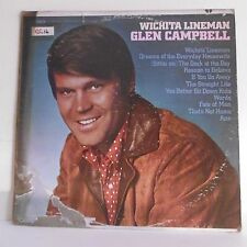 "33T Glen CAMPBELL Disque Vinyle LP 12"" WICHITA LINEMAN - CAPITOL 103 Rare"