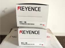 one KEYENCE RC-16 Electronic LCD Display Preset Counter