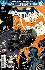 BATMAN #3, New, First print, DC REBIRTH (2016)