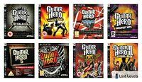 Ps3 - Guitar hero 3, Van Halen, Rock,World Tour - Choose Your Game Multi Listing