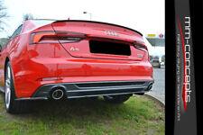 CUP Diffusor Ansatz für Audi S5 A5 S Line F5 Heck Stoßstange Diffuser Version 2