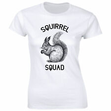 Squirrel Squad with Image T-Shirt for Women