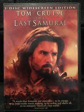 The Last Samurai (DVD, 2004, 2-Disc Set, Widescreen Edition)