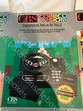 Empty Card Box for CBS ColecoVision Expansion Module No 2 Driving Repro