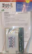 Digitrax DS64 Stationary Decoder For Use W/ 4 Slow Motion T/O Machines