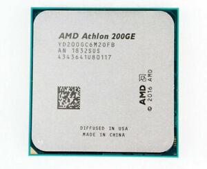 AMD Athlon 200GE AM4 Dual-Core 3.2 GHz Radeon Vega 3 bureau processeur