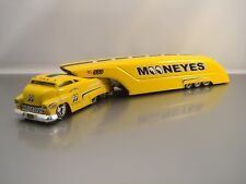 Moon Eyes Mooneyes Sledster Yellow Drag Bus Evo BossCo Custom Crew