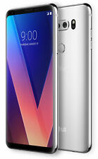 LG V30 - H 932- 64GB  Silver T-MOBILE (Unlocked) - GOOD CONDITION (7.5/10)