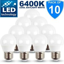 10x 5w = 30w High Power E27 LED Edison Screw Golf Ball Bulb Cool Daylight White
