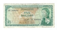 East Caribbean - Five (5) Dollars, 1965  !! REPLACEMENT!!