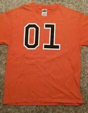 General Lee 01 Orange T-Shirt Size M The Dukes Of Hazzard
