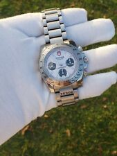 Rolex Tudor Sport Chronograph White Dial Stainless Steel Watch 20300