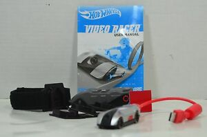 Collector's Item Hot Wheels Video Racer Micro Camera Car w/ LCD Screen Silver