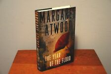 The Year of the Flood by Margaret Atwood (2009 Hardcover DJ 1st VG+ MaddAddam 2)