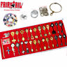 Fairy Tail Lucy Heart Celestial Spirit Lucy Keys & Pendant Necklace Keychain+Box