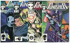 Punisher #1 - 9  Complete Run  avg. NM 9.4 white pages  Marvel  1987  No Reserve