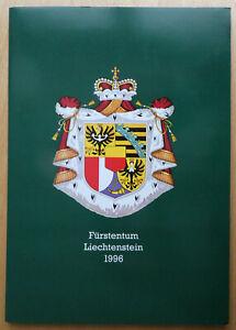 Liechtenstein, Jahreshefte der Regierung, Jahre 1996 - 2001 komplett, ** und o