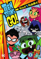 Teen Titans Go!: Mission to Misbehave DVD (2017) Michael Jelenic cert U 2 discs