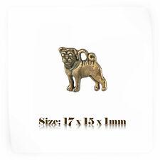 10 Bronze Antique Vintage Style Dog Charms Pendant Steampunk 106